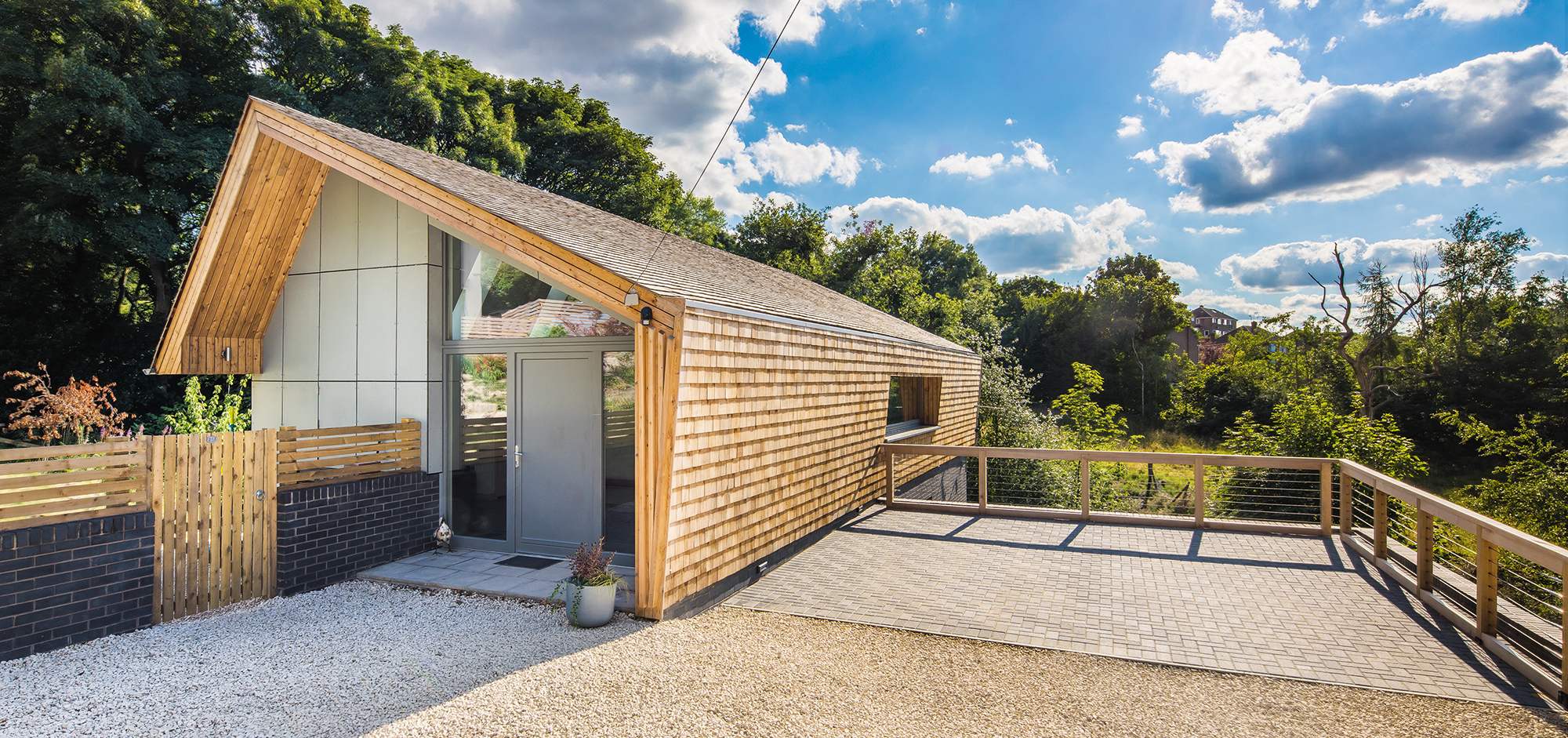 build a timber frame house on a budget
