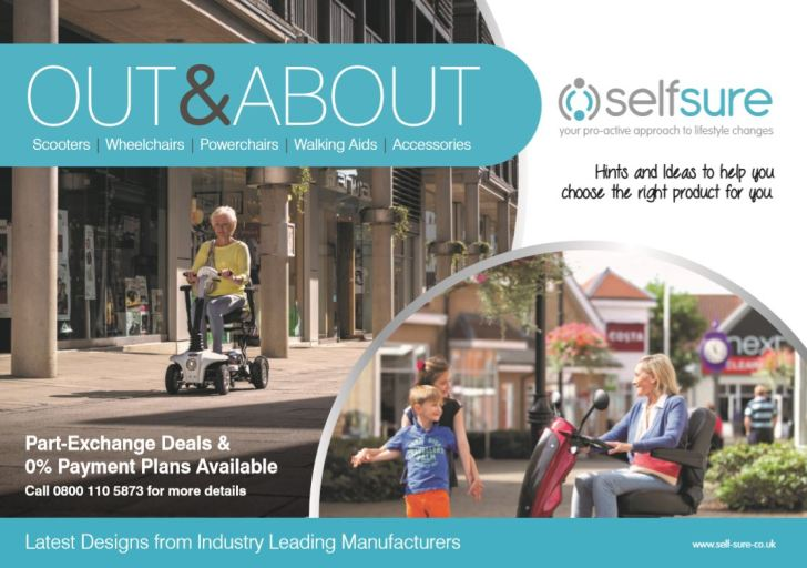 Out and About Mobility by Self Sure