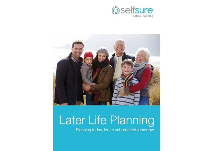 Later Life Planning by Self Sure