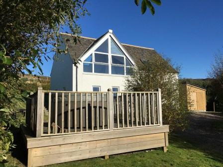 Windyhill Cottage Hot Tub Decking