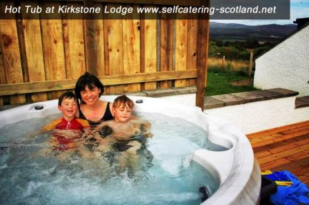 Kirkstone Lodge Hot Tub