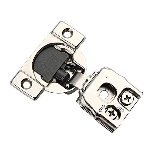 2-Piece Black Self-Closing Vinyl and Wood Gate Hinge D/&D 5-1//8 in x 3-3//4 in