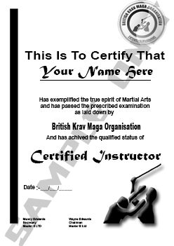Become a Certified Self Defence Instructor