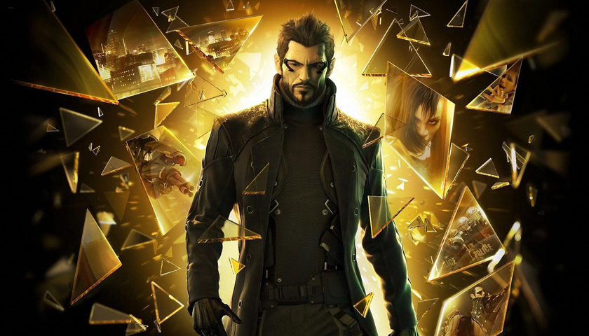 Adam Jensen in Deus Ex: Human Revolution