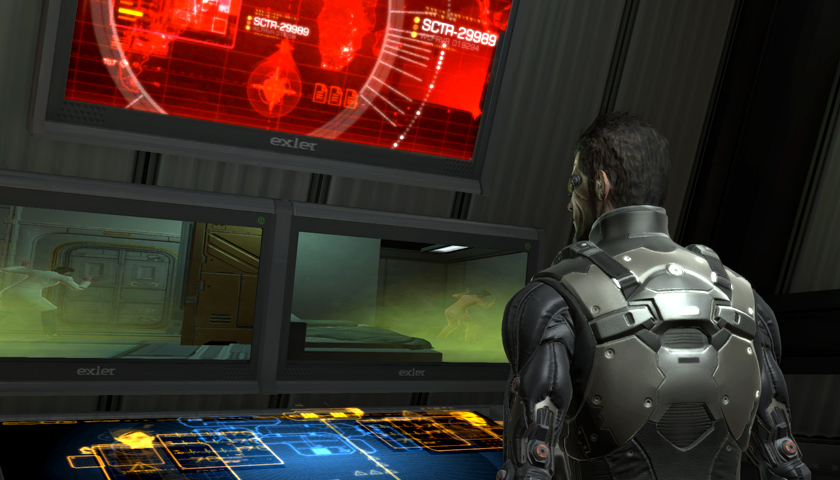 Adam Jensen must choose who lives and who dies