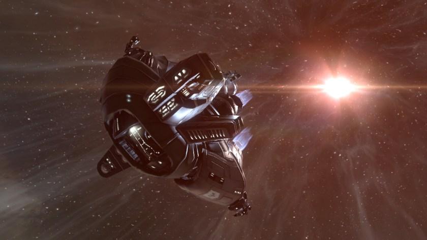 A Navitas Gallente frigate in Eve Online