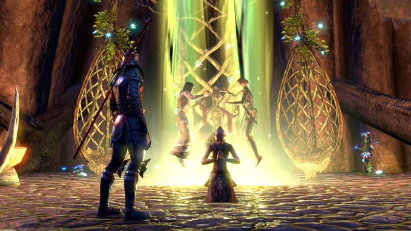 The wedding of the Silvenar and the Green Lady in The Elder Scrolls Online