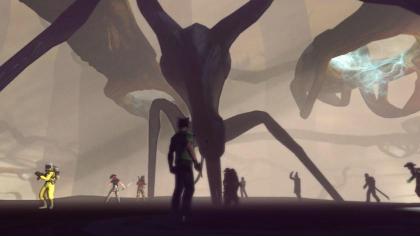 The shade stalker, She Who Crawls Outside, in the Agartha Defiled raid in Secret World Legends.