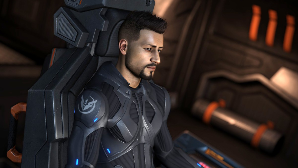 Commander Etherwin in Elite Dangerous.