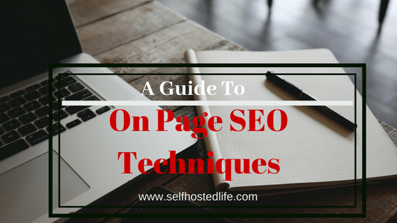 On Page SEO Techniques To Get Higher Rank On Google