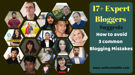 "17+ Experts Suggest ""3 Blogging Mistakes Bloggers Always Make & How to Fix Them"""