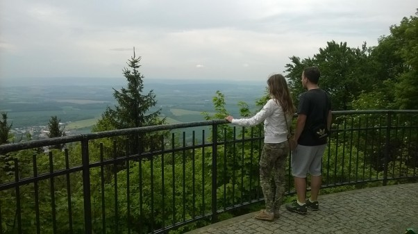 View from Hostýn lookout tower