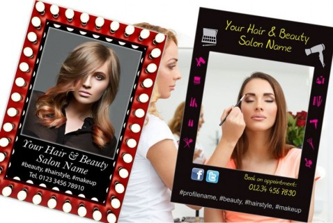 Hair And Beauty Photo Selfie Frame Tattoo Studio Photo