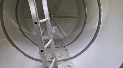 Vyčištění retenční nádrže
