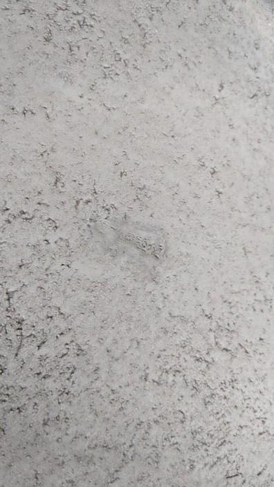Opravená díra v podlaze Betonepox
