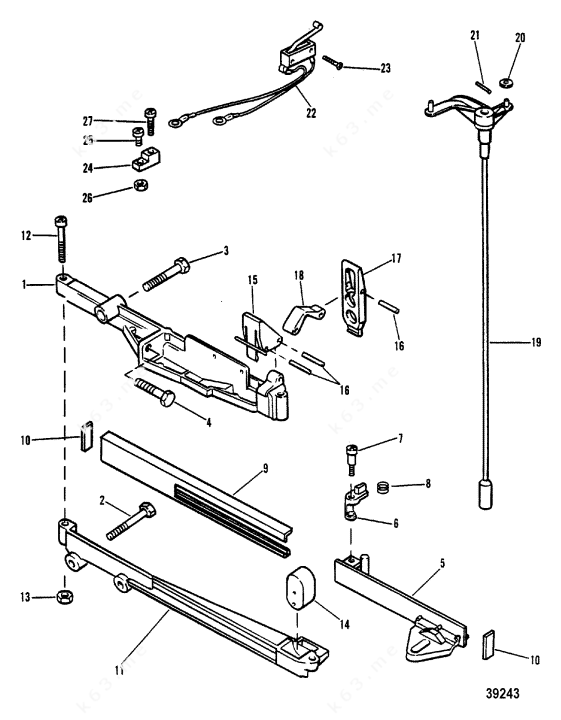 Diagram Manual Transmission Shift Linkage File Re47663