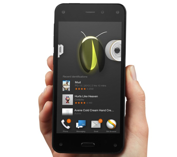 Das Fire Phone von Amazon