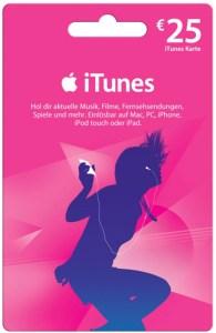 iTunes-Gutscheine verletzen die Preisbindung, wenn sie unter ihrem Wert verkauft werden und für eBooks einlösbar sind
