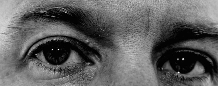 Man Face Eyes