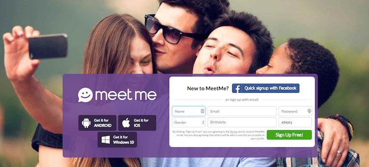 MeetMe Sign up and MeetMe Login