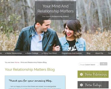 Your Relationship Matters