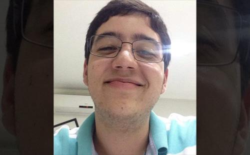 Eugênio Nunes do Carmo, aluno do Gauss - Centro de Estudos.