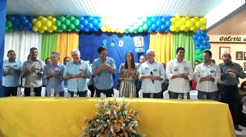 Ruy Barbosa reúne políticos da Chapada em campanha do PSD