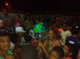 Entrega de prêmios no distrito de Ubiraitá