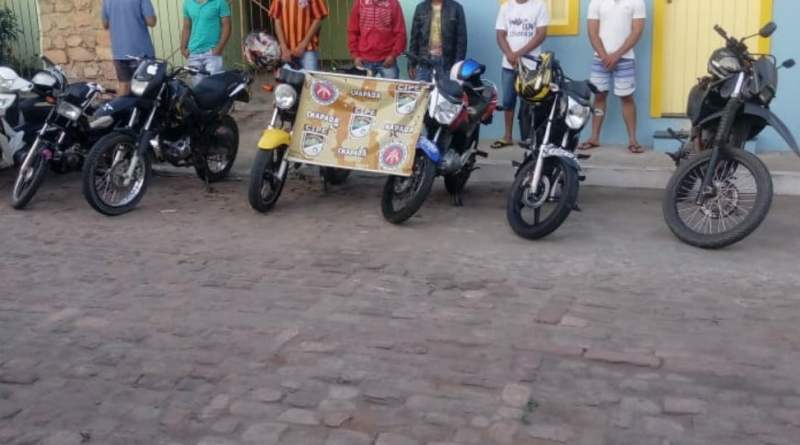 "Cipe Chapada acaba com ""Racha de Moto"" em Mucugê na Chapada"