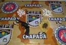 Traficante é localizado com arma e drogas em Andaraí  – Ba