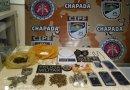 Cipe Chapada efetua prisões em Andaraí por tráfico de drogas