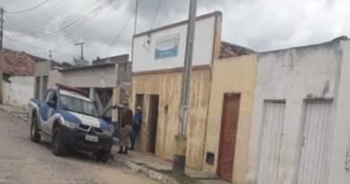 Ladrões roubaram posto da polícia no município de Senhor do Bonfim