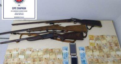 Operação conjunta da CIPE CHAPADA e 13ª COORPIN prende suspeitos de roubo de gado em Nova Redenção