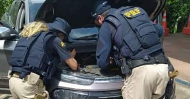 Fiat Toro roubada em Valença (BA) é recuperada pela PRF na Chapada Diamantina