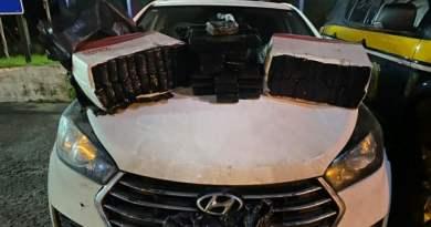 Jovens são presos com 65 quilos de maconha em porta-malas de carro na BR-116