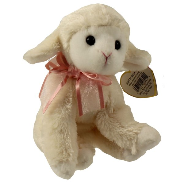 Ty Beanie Baby - Fleecia Lamb 5.5 Mint Sell Babies