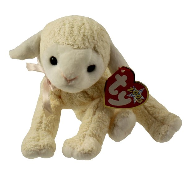 Ty Beanie Baby - Fleecie Lamb 6 Mint Sell Babies