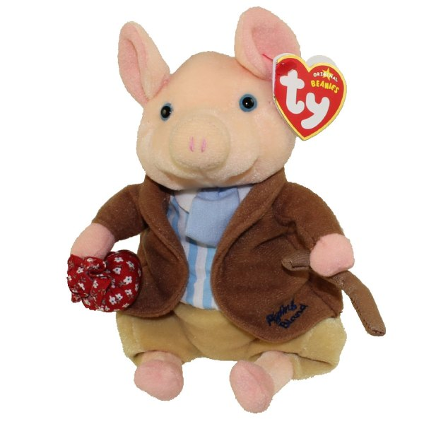 Ty Beanie Baby - Pigling Bland Pig 8 Mint