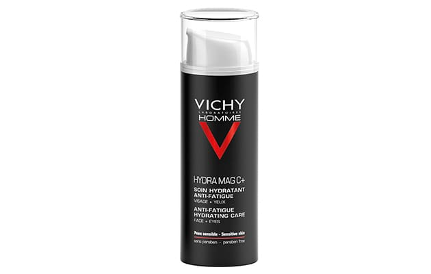 Vichy Homme Hydra Mag C+ Face Moisturizer (10 Best Moisturizers for Men with Oily Skin)