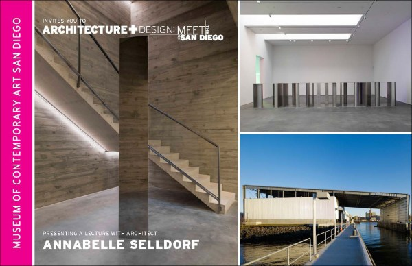 Annabelle Selldorf Give Lecture Mcasd - Architects York