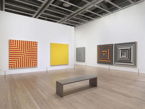 Frank Stella Retrospective Whitney Museum - Selldorf