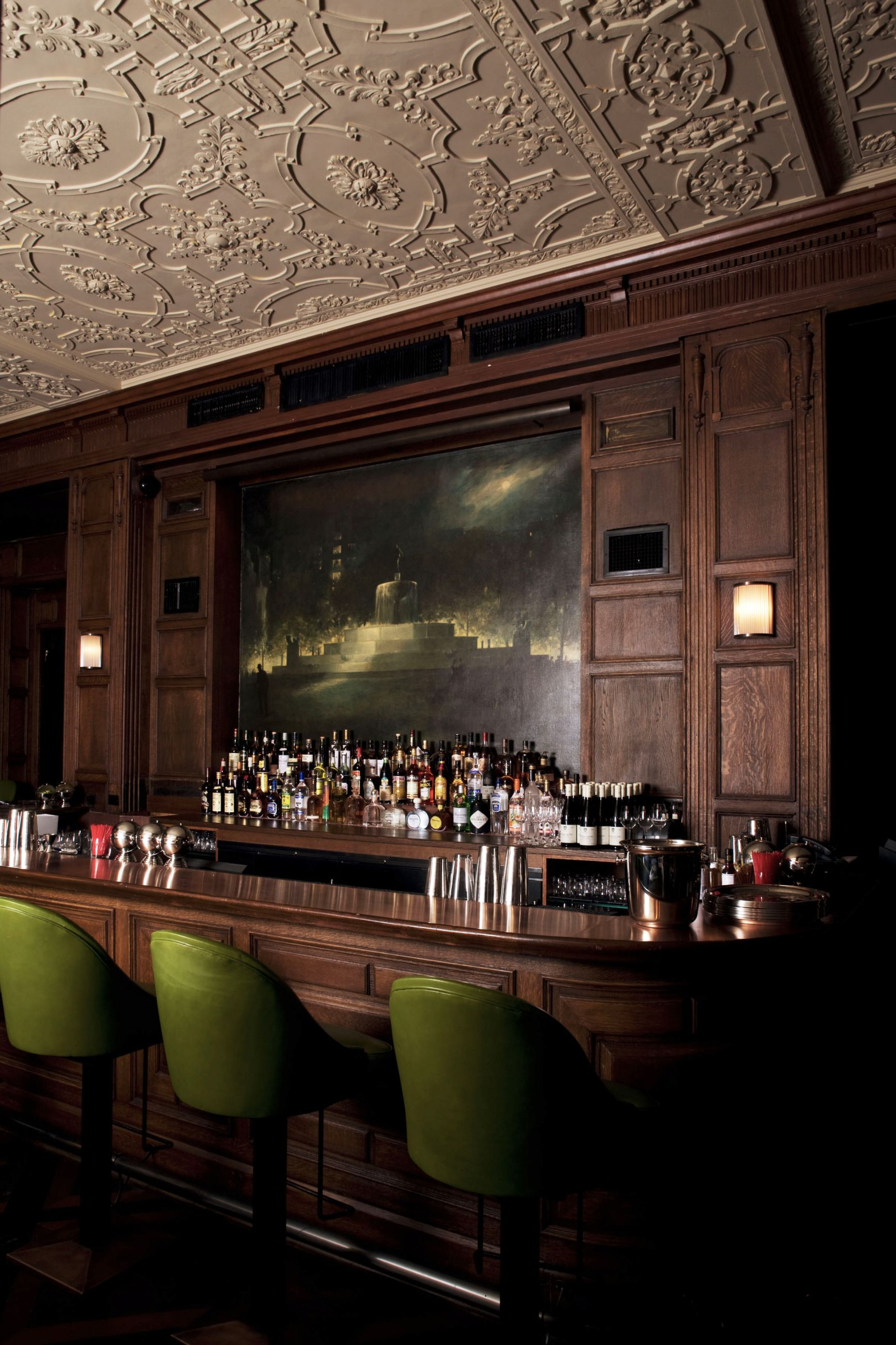 Oak Room And Bar At The Plaza Hotel Selldorf Architects New York
