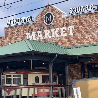 Marietta Restaurants at the Marietta Square Market