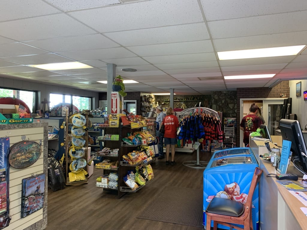 Carters Lake Marina & Resort General Store