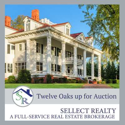 Gone with the Wind Fans, Rejoice! Buy Twelve Oaks!