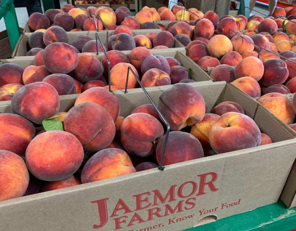Jaemor Farms Peaches Sellect Realty Lake Lanier Realtor