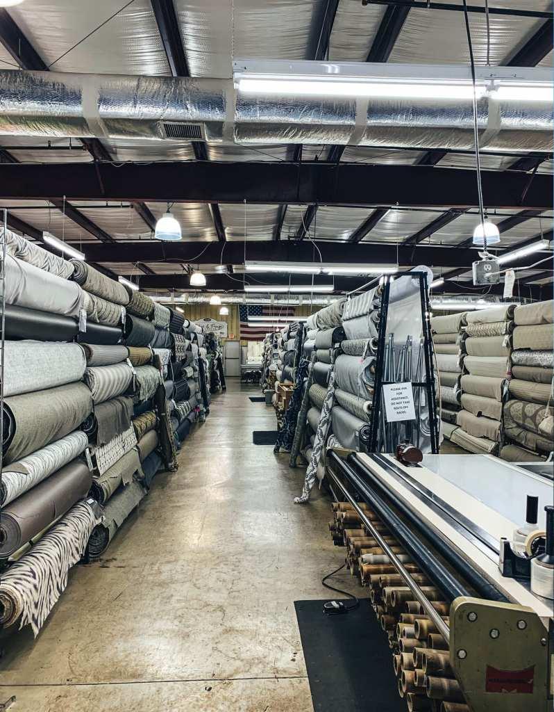 Where to buy upholstery fabric in  Marietta