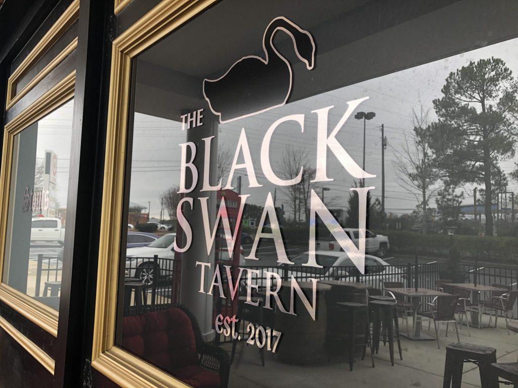 The Black Swan Tavern Window