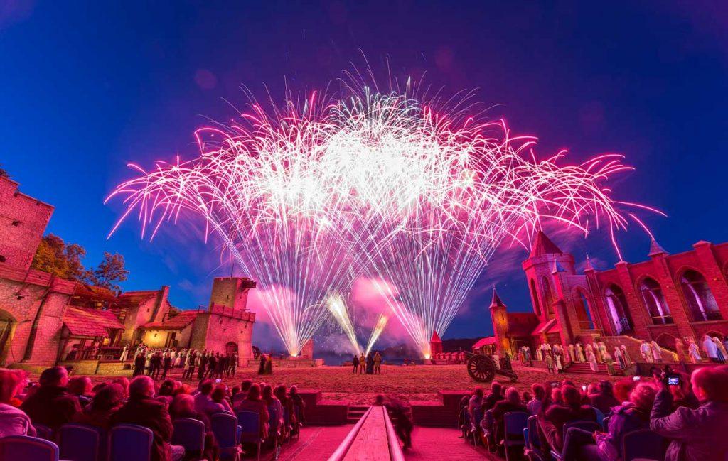 Feuerwerk der Störtebeker Festspiele