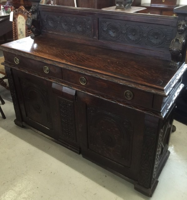 Antique Oak Sideboards and Buffets